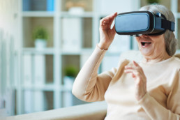 Doublethink VR for elderly