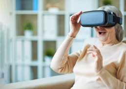 Doublethink VR for elderly